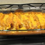 Chicken Enchiladas With Pumpkin Sauce