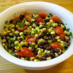 Black Bean, Corn, and Tomato Salad