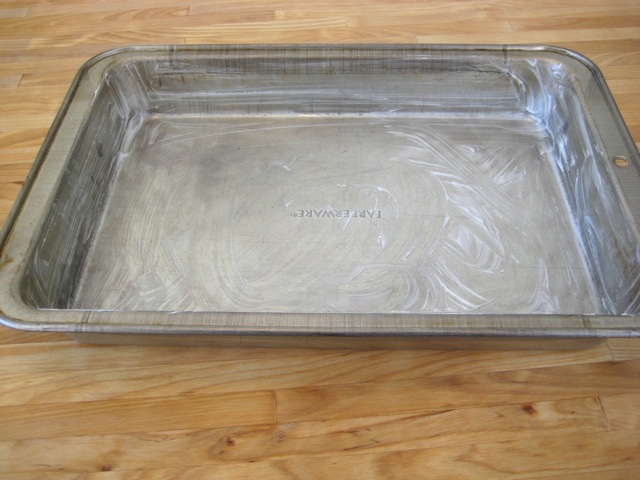 Butter Or Shortening To Grease Cake Pan